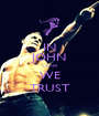 IN JOHN  CENA WE TRUST - Personalised Poster A1 size