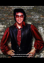 In the 1970's  my career had it's ups and downs so did my weight  and I hate those Fat Elvis jokes the offend me I had  problems - Personalised Poster A1 size