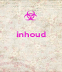inhoud    - Personalised Poster A1 size