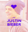 ITS JUSTIN BIEBER - Personalised Poster A1 size