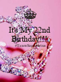 It's My 22nd  Birthday!!!  #TeamSagittarius   - Personalised Poster A1 size