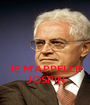 JE M'APPELLE JOSPIN - Personalised Poster A1 size