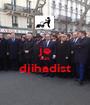 je suis djihadist  - Personalised Poster A1 size