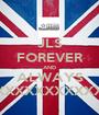 JLS FOREVER AND ALWAYS XXXXXXXXXXXXXXXXXXXXXXXXXXXXXXXXXXXXXXXXXXXXXXX - Personalised Poster A1 size