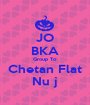 JO BKA Group To Chetan Flat Nu j - Personalised Poster A1 size