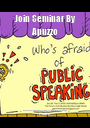 Join Seminar By Apuzzo 26th(Tuesday)..at 18.00 Aula 2D And 27th(Wednesday) at 18.00 Aula 1F. - Personalised Poster A1 size