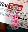 JUST LOOK AT ME NOW - Personalised Poster A1 size