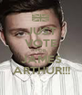 JUST VOTE FOR JAMES ARTHUR!!! - Personalised Poster A1 size
