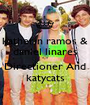 katherin ramos & daniel linares *-* Directioner And katycats - Personalised Poster A1 size
