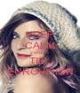 KEEP CALM 2 WEEKS TILL EUROVISION - Personalised Poster A1 size