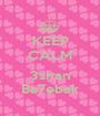 KEEP CALM  3shan Ba7ebak - Personalised Poster A1 size