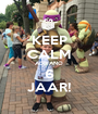 KEEP CALM ADRIANO 6 JAAR! - Personalised Poster A1 size