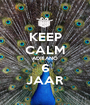 KEEP CALM ADRIANO 6 JAAR - Personalised Poster A1 size