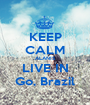 KEEP CALM ALANIS LIVE IN Go, Brazil - Personalised Poster A1 size