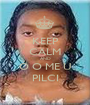 KEEP CALM AND Ó O ME U PILCI - Personalised Poster A1 size
