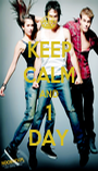 KEEP CALM AND 1 DAY - Personalised Poster A1 size