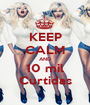 KEEP CALM AND 10 mil Curtidas - Personalised Poster A1 size
