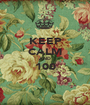 KEEP CALM AND 100  - Personalised Poster A1 size