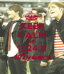KEEP CALM AND 11.24.11 #2years - Personalised Poster A1 size