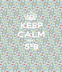 KEEP CALM AND 5°B  - Personalised Poster A1 size