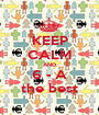 KEEP CALM AND 6 - A the best - Personalised Poster A1 size