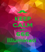 KEEP CALM AND 666 Illuminati  - Personalised Poster A1 size