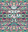 KEEP CALM AND ; )  - Personalised Poster A1 size