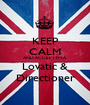 KEEP CALM AND ACCEPT I'M A Lovatic & Directioner - Personalised Poster A1 size
