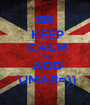 KEEP  CALM  AND  ADD  UMAR=)) - Personalised Poster A1 size