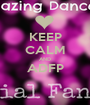 KEEP CALM AND ADFP  - Personalised Poster A1 size