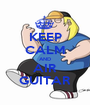 KEEP CALM AND AIR GUITAR - Personalised Poster A1 size