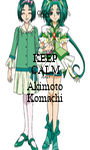 KEEP CALM AND Akimoto Komachi - Personalised Poster A1 size