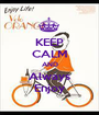 KEEP CALM AND Always Enjoy - Personalised Poster A1 size