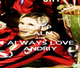 KEEP CALM AND ALWAYS LOVE ANDRIY - Personalised Poster A1 size