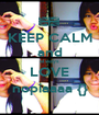 KEEP CALM and always LOVE nopiaaaa {} - Personalised Poster A1 size