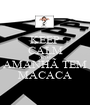 KEEP CALM AND AMANHÃ TEM MACACA - Personalised Poster A1 size