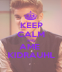 KEEP CALM AND AME  KIDRAUHL - Personalised Poster A1 size