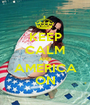 KEEP CALM AND AMERICA ON - Personalised Poster A1 size
