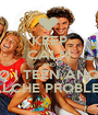 KEEP CALM AND AMO I TEEN ANGELS QUALCHE PROBLEMA? - Personalised Poster A1 size