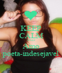 KEEP CALM AND Amo poeta-indesejavel - Personalised Poster A1 size