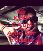 KEEP CALM AND Amo Ser Yudete - Personalised Poster A1 size