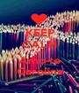 KEEP CALM AND Amo-te Carolina - Personalised Poster A1 size