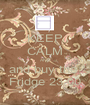 KEEP CALM AND and buy the  Fridge 23.00 - Personalised Poster A1 size