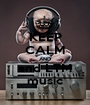 KEEP CALM AND and LTM music - Personalised Poster A1 size