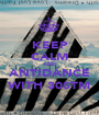 KEEP CALM AND ANTIDANCE WITH 30STM - Personalised Poster A1 size