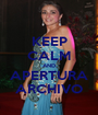 KEEP CALM AND APERTURA ARCHIVO - Personalised Poster A1 size