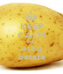 KEEP CALM AND ashq batata - Personalised Poster A1 size