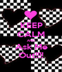 KEEP CALM AND Ask Me Out!!!! - Personalised Poster A1 size