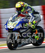 KEEP CALM AND ATTACCATI AI FRENI  - Personalised Poster A1 size
