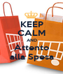 KEEP CALM AND Attento alla Spesa - Personalised Poster A1 size